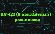 RS-422 (9-контактный) — распиновка